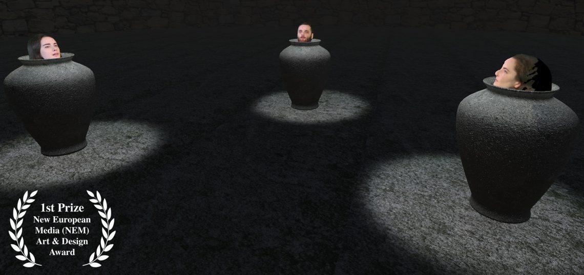 Virtual Play, after Samuel Beckett