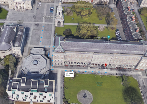 Developing AR navigation app for TCD