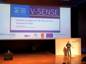 Professor Smolic is invited to talk at the NEM Summit 2017 in Madrid!