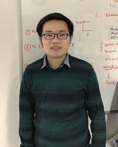 V-SENSE research seminar presented by new V-SENSE team member, Dr. Pan Gao!
