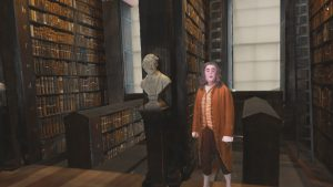 The Trinity Library Long Room Mixed Reality Project, featuring Jonathan Swift