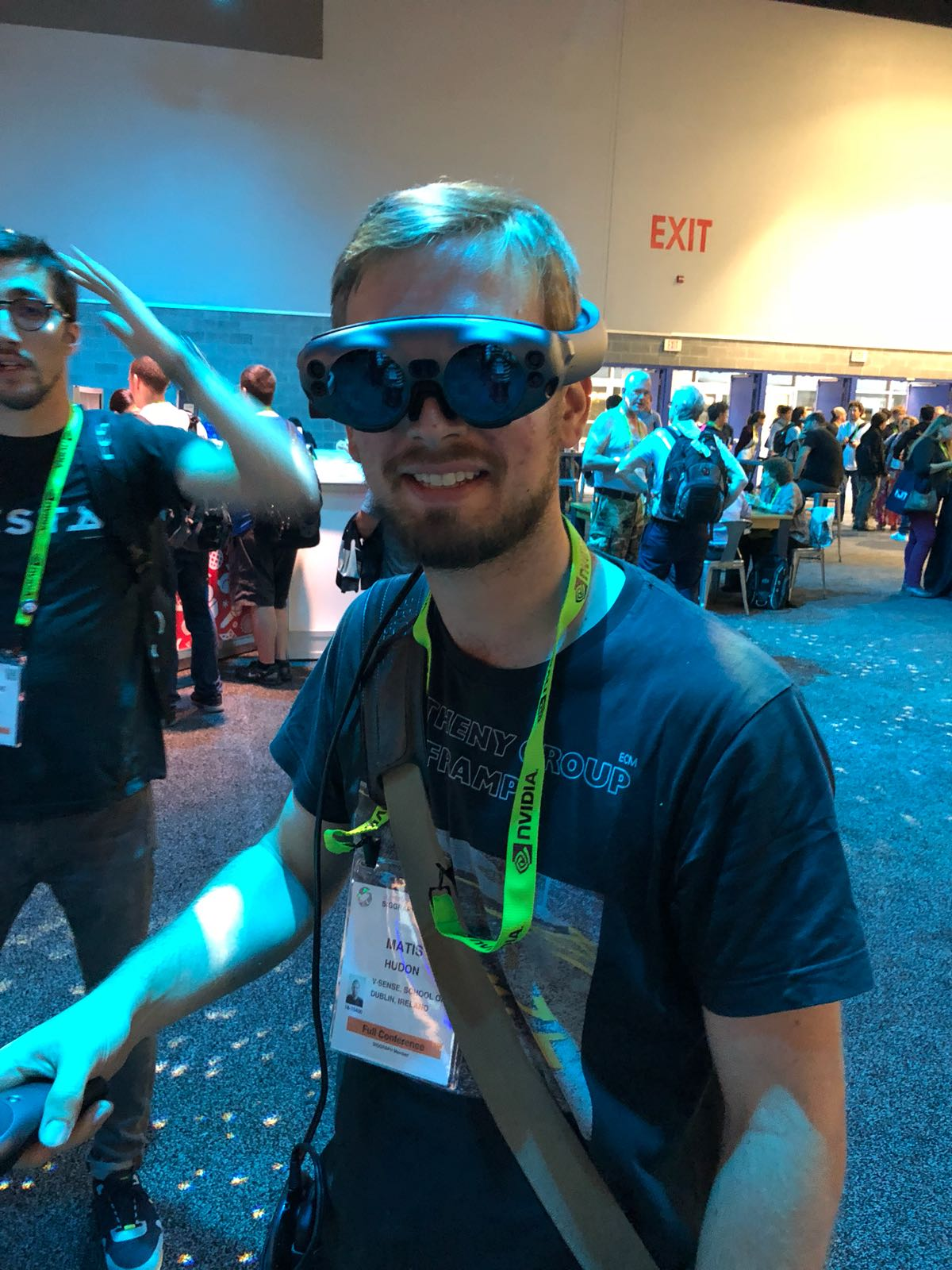 V-SENSE attends SIGGRAPH 2018 and EXPRESSIVE 2018!