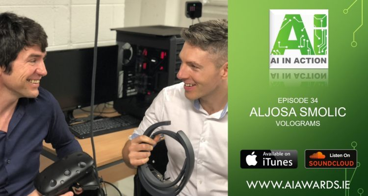 Great interview with Professor Aljosa Smolic conducted by AI Ireland for their AI In Action podcast series!