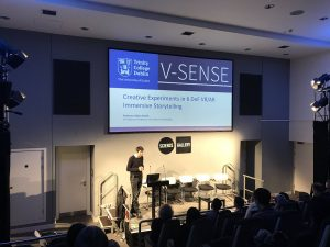 SIGNAL: Reality. A successful evening with V-SENSE at the Science Gallery!