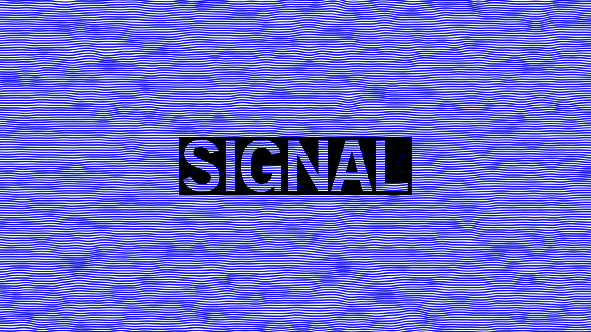 SIGNAL: Reality. V-SENSE at the Science Gallery!