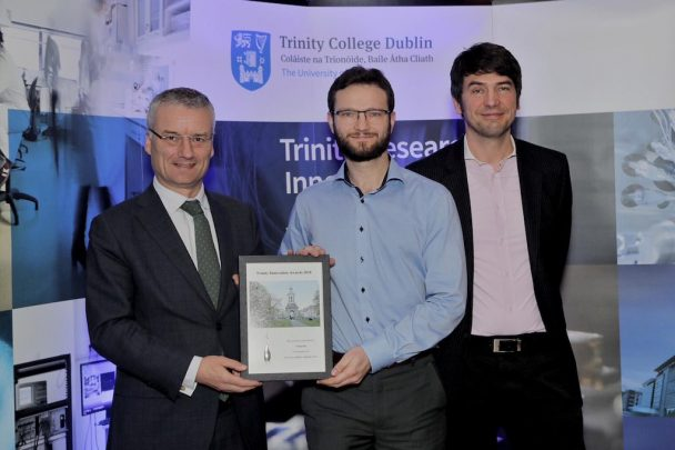 Professor Smolic and Volograms receive Trinity Campus Company Recognition Award!