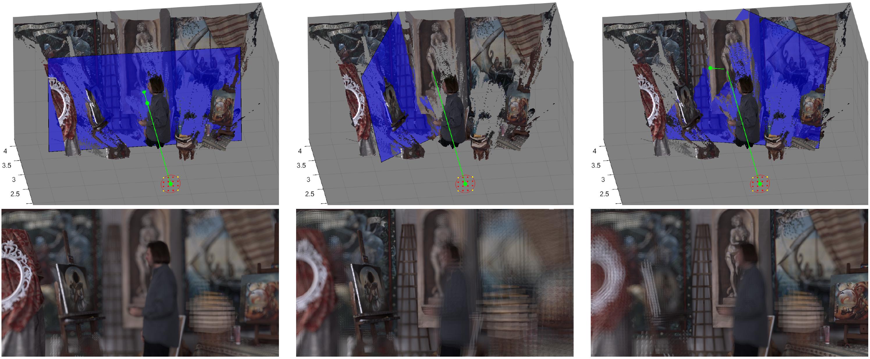 Interactive Light Field Tilt-Shift Refocus
