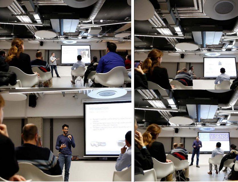 V-SENSE invited to present at Travelport Digital Deep Learning MeetUp!