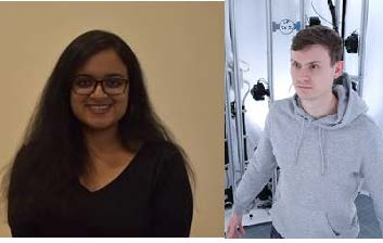 Welcome to our new team members Archana Swaminathan and Richard Blythman!