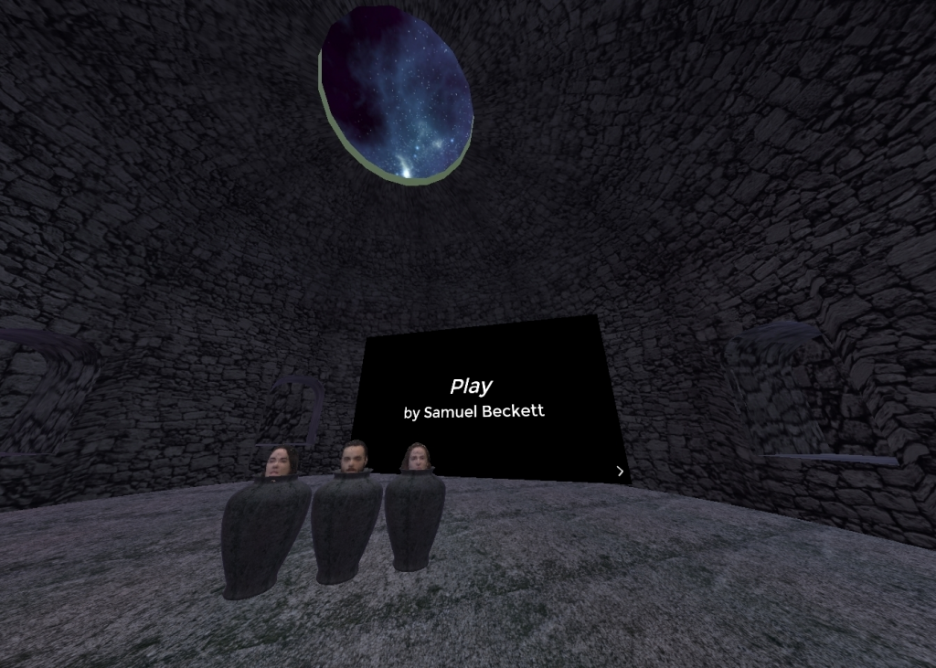 A virtual learning environment for Samuel Beckett's Play