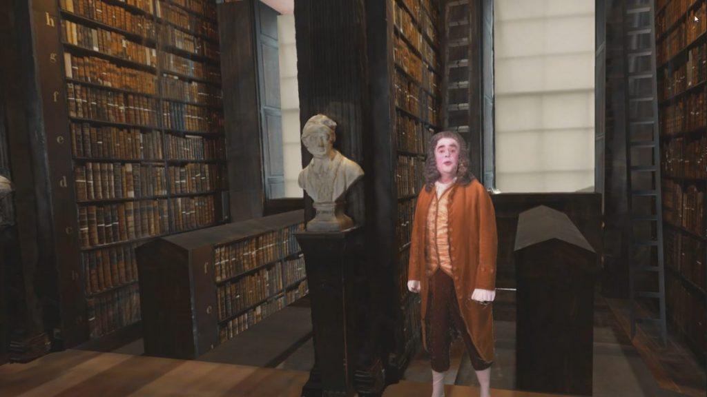 Jonathan Swift - A Mixed Reality Application for Trinity Library's Long Room