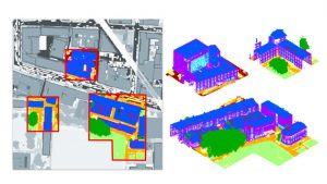 A benchmark for 3D Reconstruction from Aerial Imagery in an Urban Environment